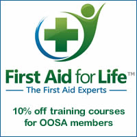 Discounts on first aid training for OOSA members