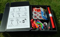 The Kite Kit contains all the materials you need plus clear instructions