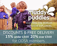 15% off Muddy Puddles for OOSA members